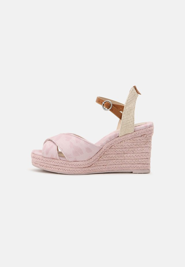 MAIDA ANY - Platform sandals - pink