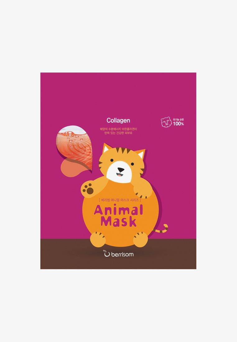 Berrisom - ANIMAL MASK CAT 3 PACK - Gesichtsmaske - neutral