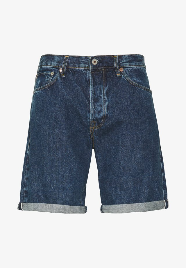 JJICHRIS JJROYAL  - Denim shorts - blue denim