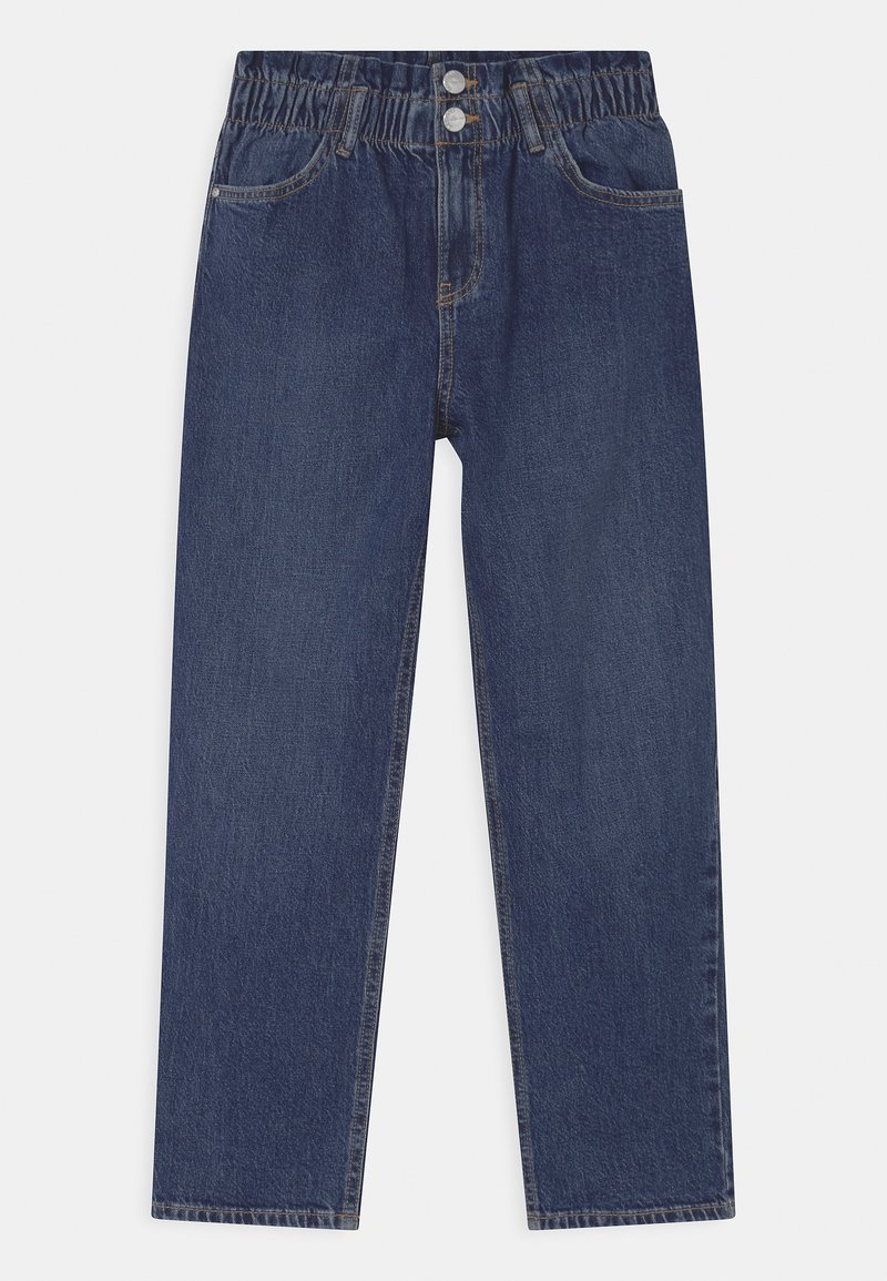 Lindex - LOUISE - Relaxed fit jeans - blue denim