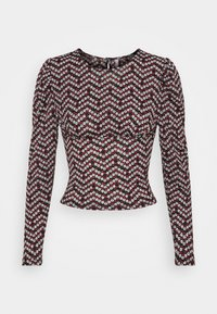 ONLY Petite - ONLPELLA PUFF  - Long sleeved top - black - 4