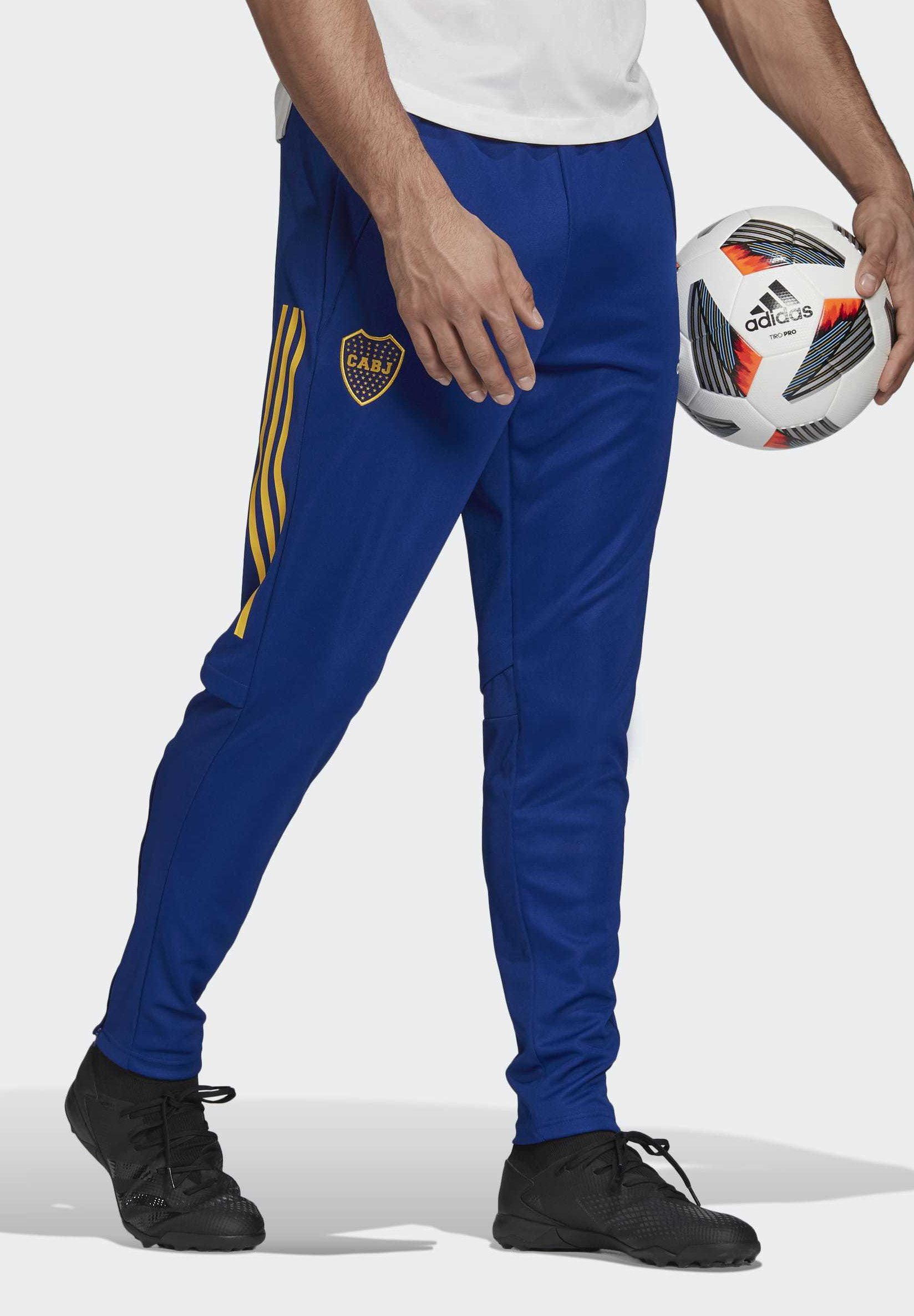 BOCA JUNIORS TRAINING TRACKSUIT BOTTOMS Vereinsmannschaften blue