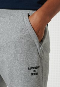 Superdry - Tracksuit bottoms - grey marl - 2