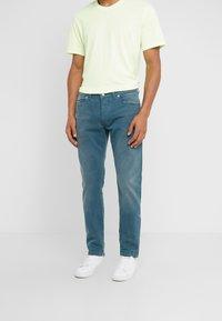 DRYKORN - JAZ - Slim fit jeans - aqua - 0