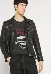 Jaded London - WASHED REGIONAL STATE - T-shirt con stampa - black - 3