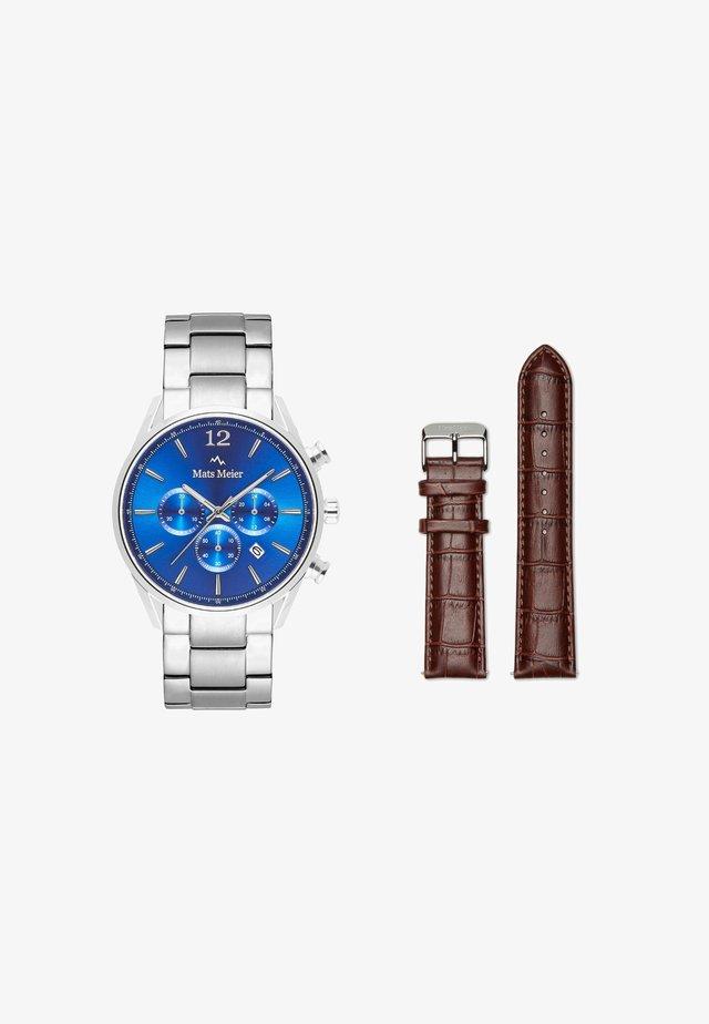 Kronografklockor - silber