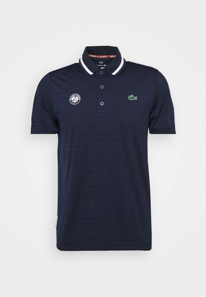 TENNIS  - Poloshirt - navy blue/white/sunny