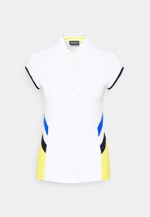RACING CAP SLEEVE - Polo shirt - optic white
