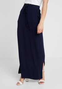 Dorothy Perkins - SKIRT - Maxi skirt - navy - 0