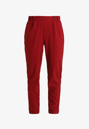 NANCI JILLIAN - Trousers - sun dried tomato
