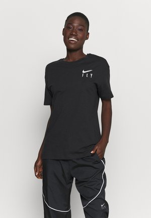 BOY TEE - T-shirt con stampa - black