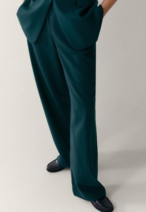 Spodnie materiałowe - green