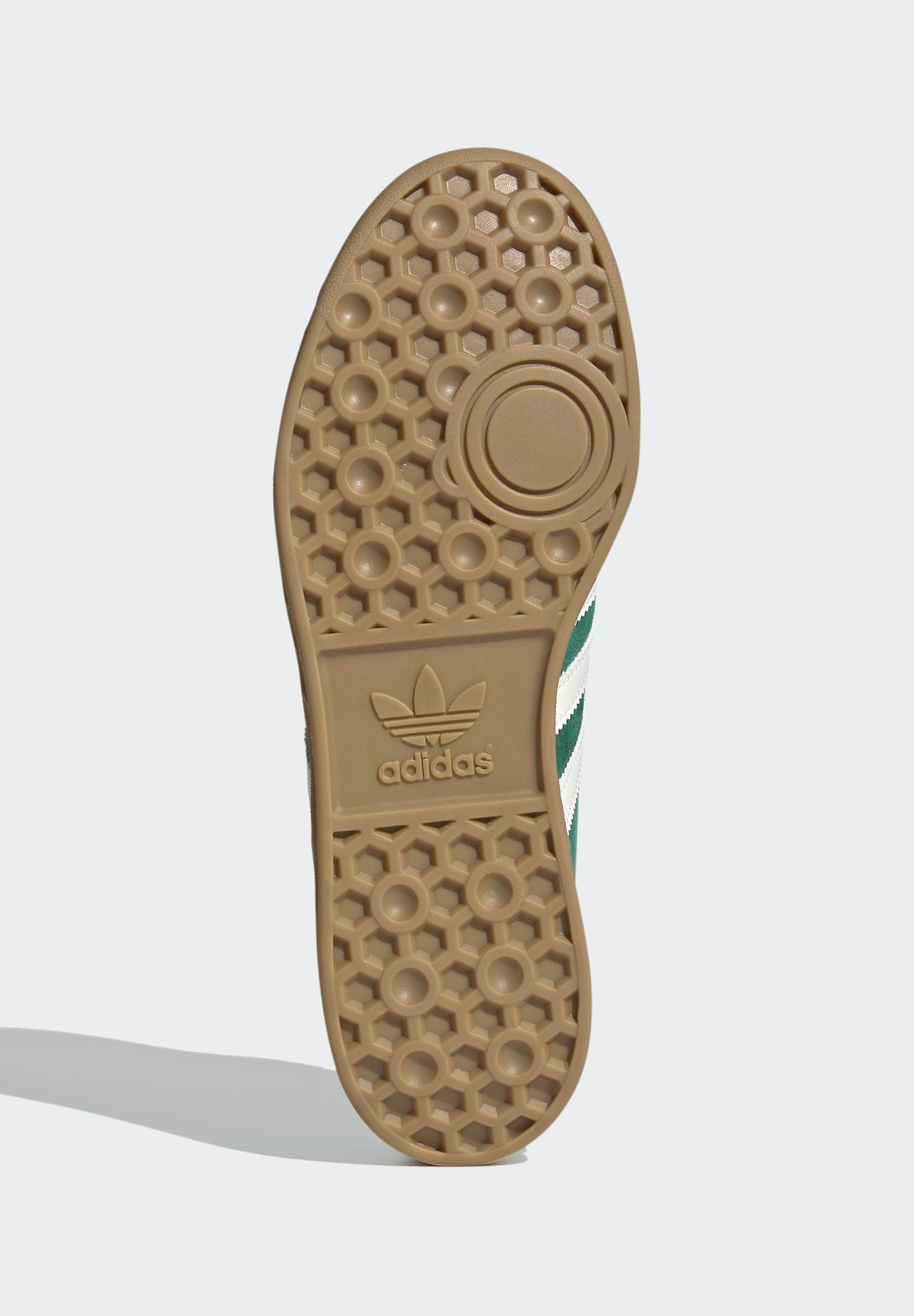 adidas Originals HAMBURG TERRACE - Baskets basses - green off ...