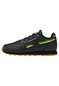 Reebok Classic - CLASSIC LEATHER SHOES - Sneakers laag - black - 0