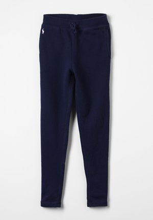 DRAPEY TERRY - Tracksuit bottoms - french navy