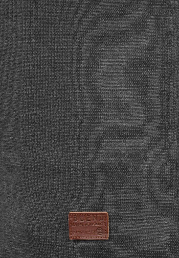 Blend JOHN - Strickpullover - charcoal/dunkelgrau-meliert - Herrenwinterkleidung GdBJO