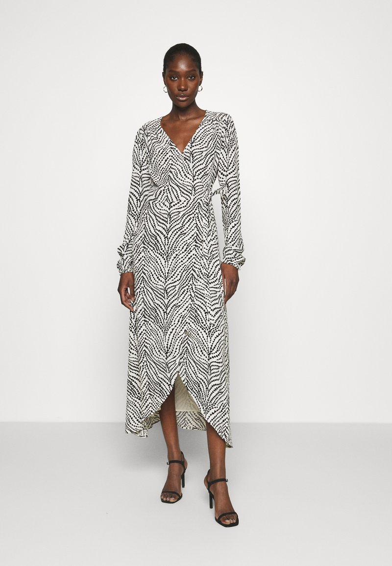 Fabienne Chapot - NATASJA DRESS - Day dress - black/white