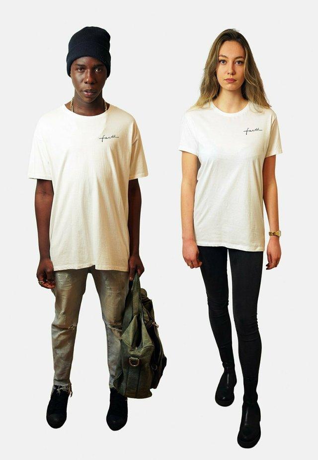 FAITH  - T-shirt basic - white
