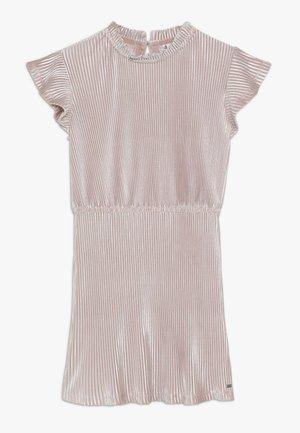 PLISSE DRESS - Robe d'été - rose
