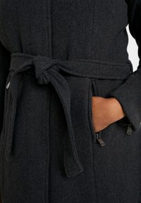 ONLY Carmakoma - CARCHRISTIE RIANNA COAT - Kurzmantel - dark grey melange - 5