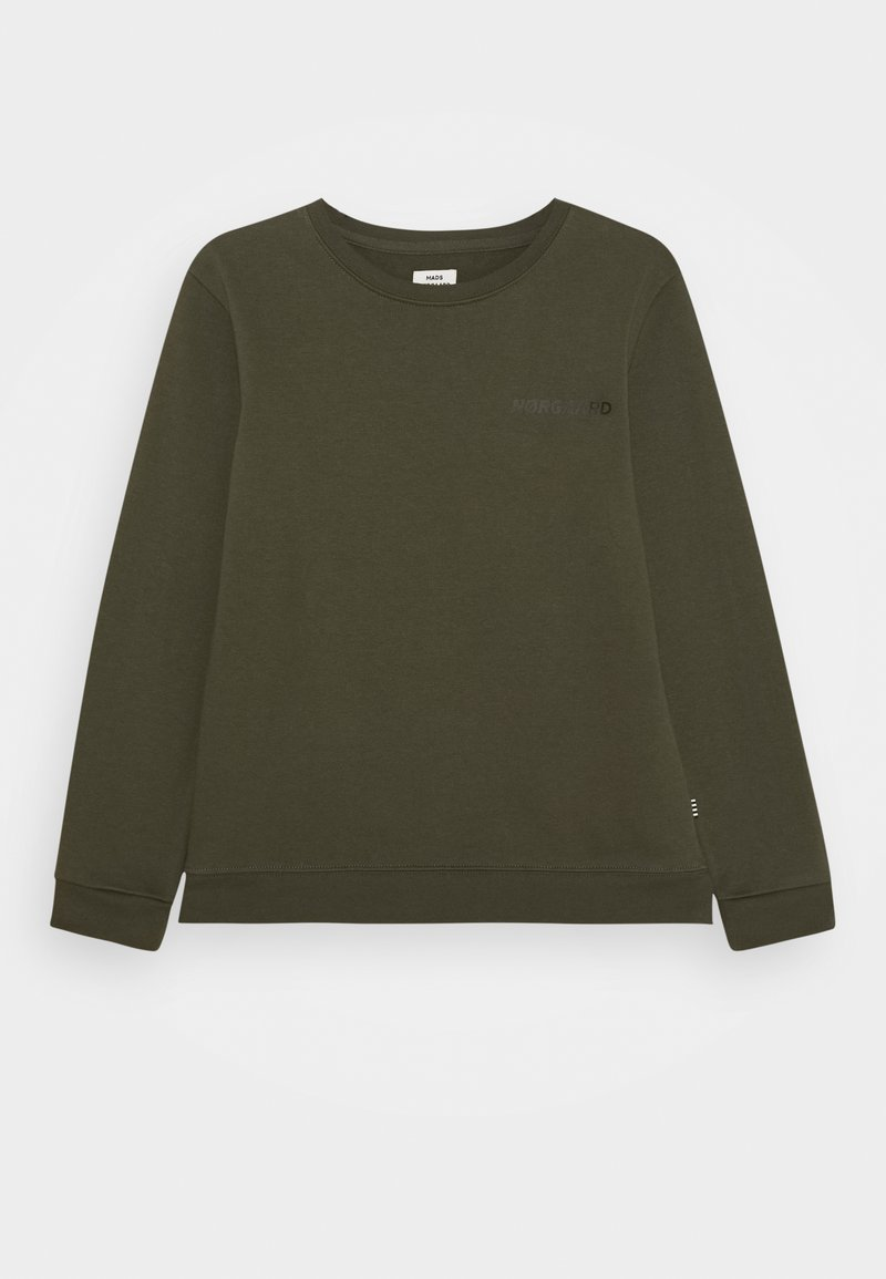 Mads Nørgaard - ORGANIC SOLOMINO - Sweatshirt - forest night
