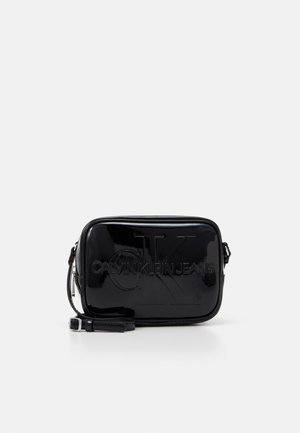 CAMERA BAG PATENT - Sac bandoulière - black