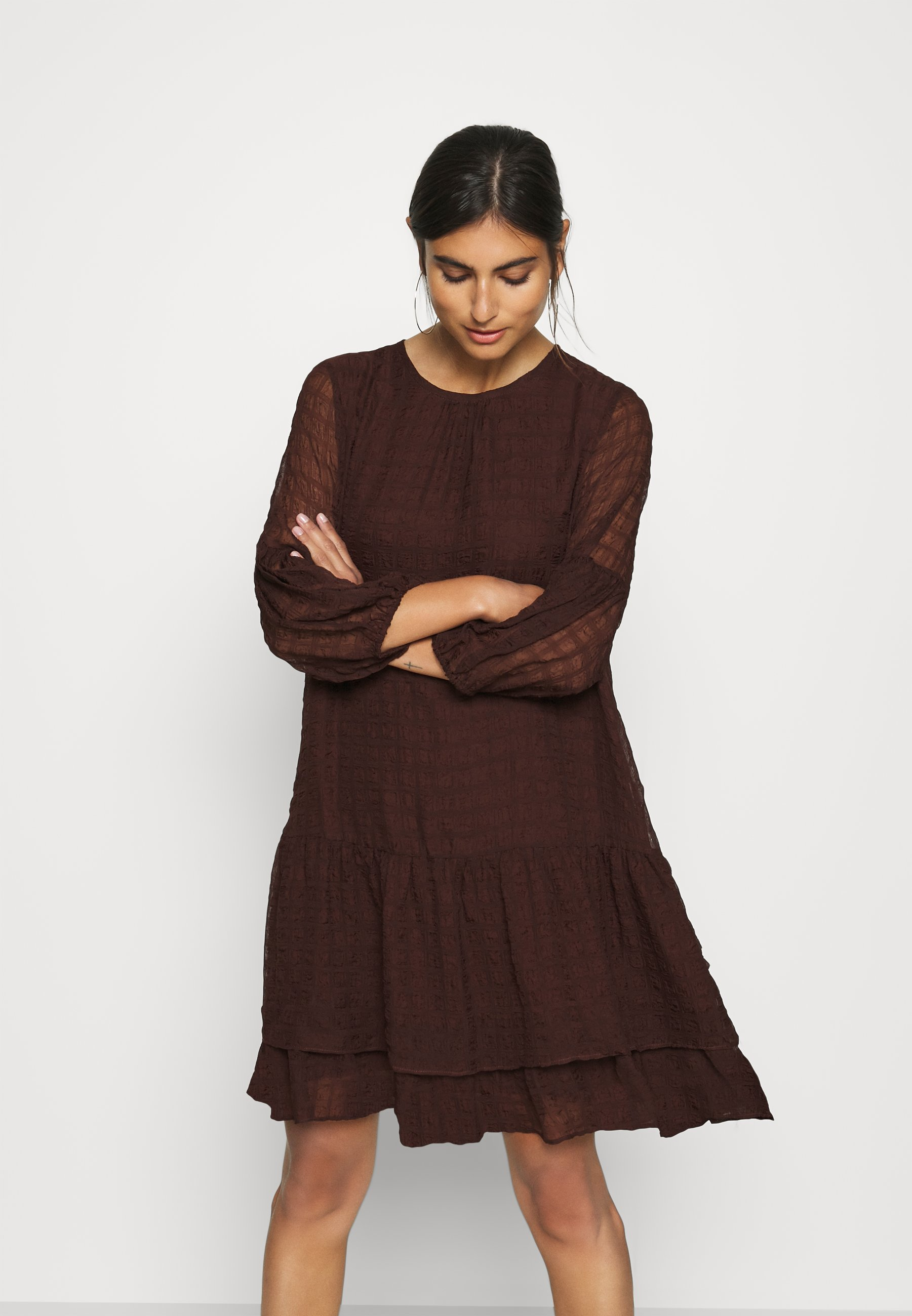 Factory Price Great Deals Women's Clothing InWear PAKWAIW DRESS Day dress coffee brown x9Il3StIi obNlAwHrQ