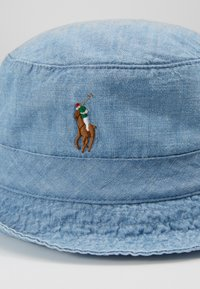 Polo Ralph Lauren - BUCKET HAT - Hatt - blue chambray - 5