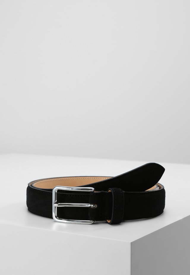 BOBBY SUEDE BELT - Riem - black