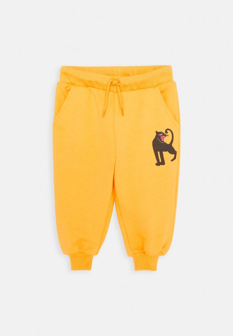 Mini Rodini - BABY PANTHER UNISEX - Trousers - yellow