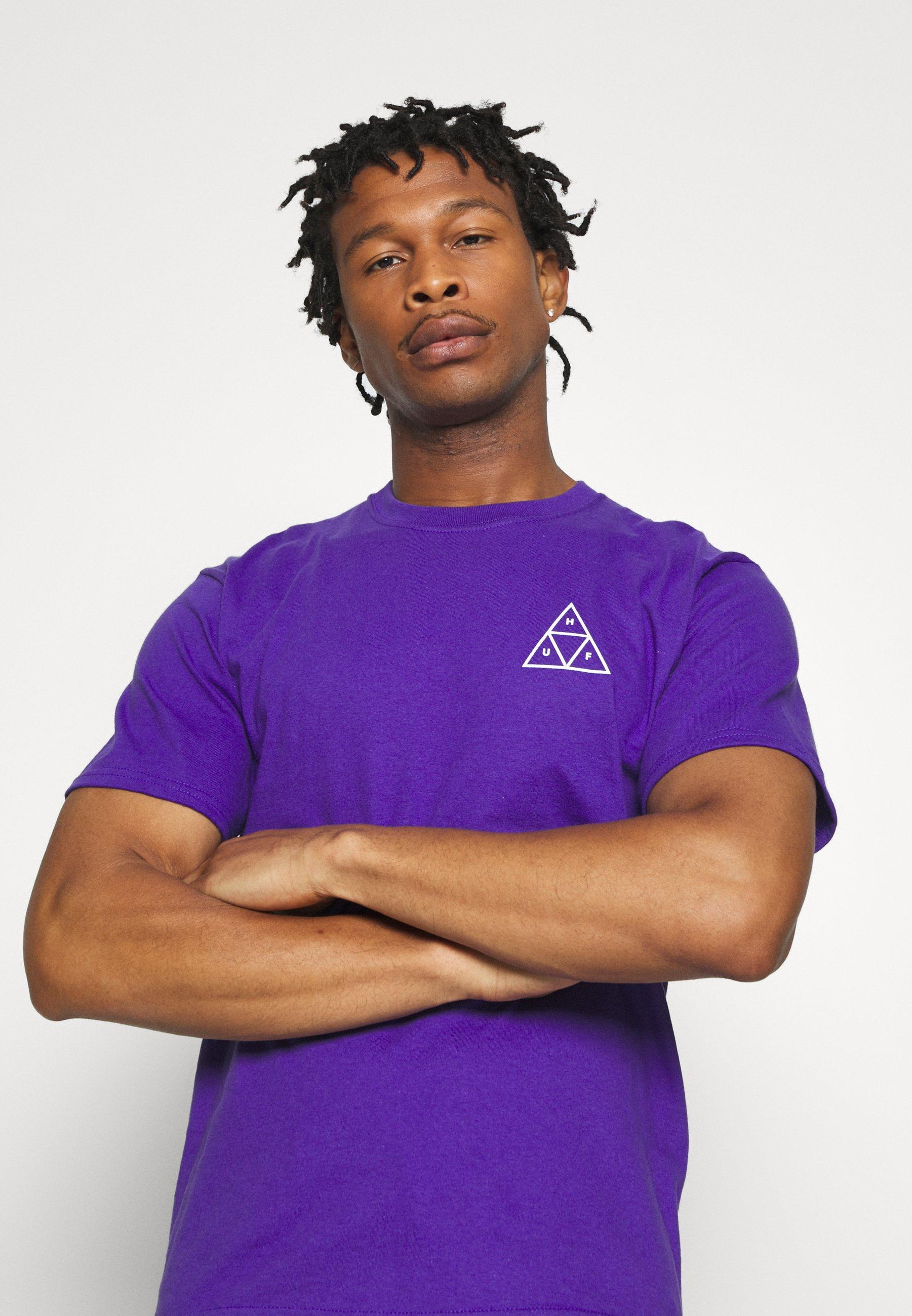 Huf Jungle Cat Tee - T-shirts Med Print Grape
