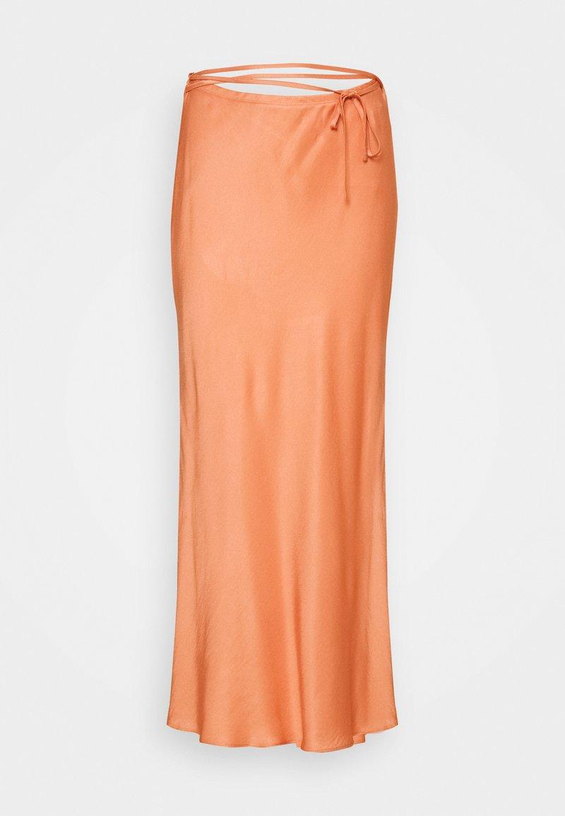 River Island Petite - Maxi skirt - copper