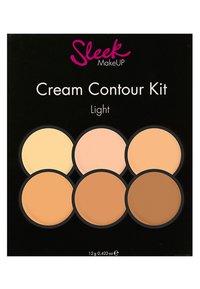 Sleek - SL CREAM CONTOUR KIT - Face palette - light - 1