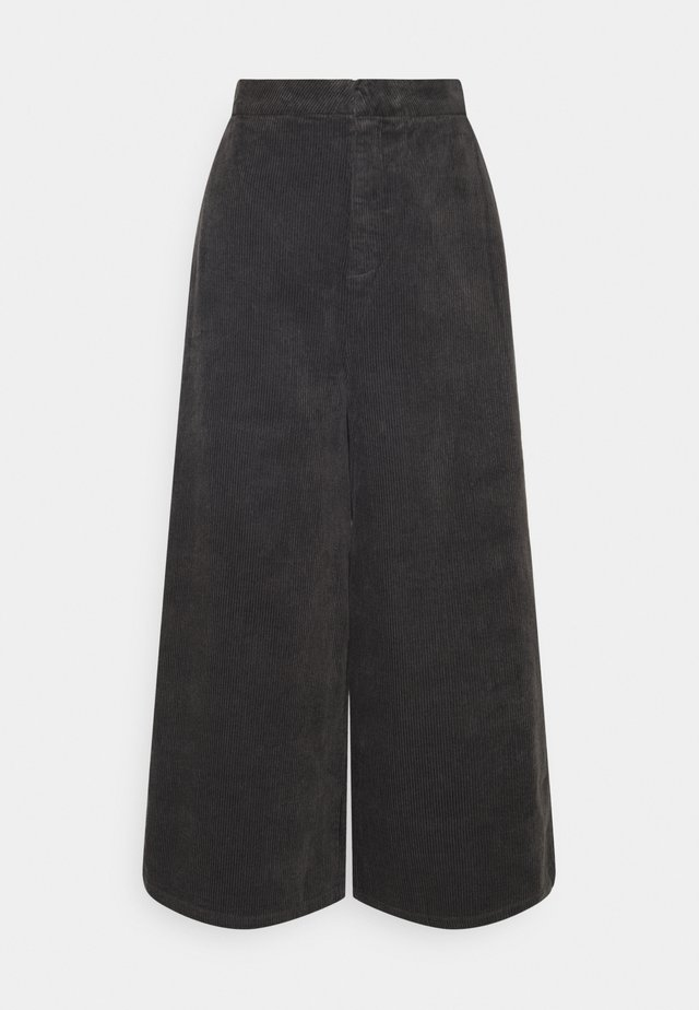 BLEACH PANTS - Trousers - asphalt