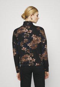 ONLY - ONLALICE ZIP - Zip-up sweatshirt - black - 2