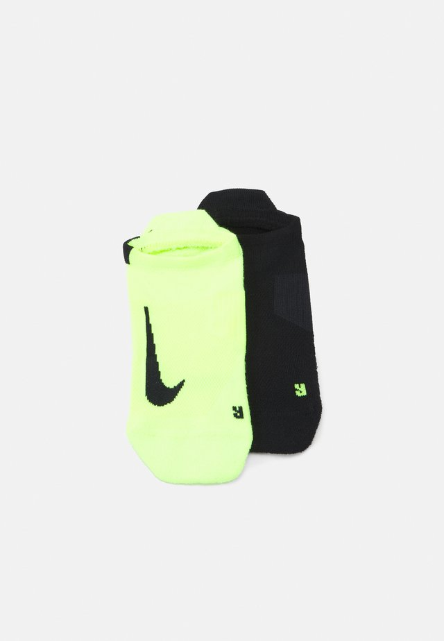 2 PACK UNISEX - Trainer socks - black