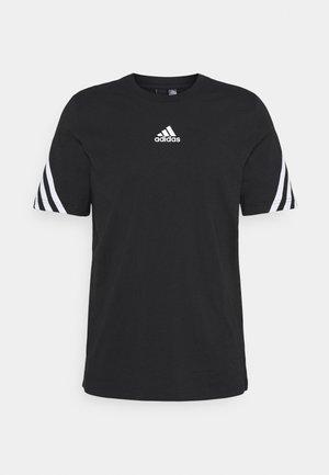 TAPE TEE - Print T-shirt - black
