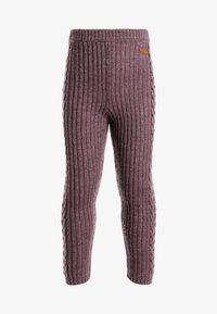 Name it - Leggings - black plum - 0