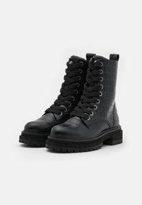 Kurt Geiger London - SIVA - Lace-up ankle boots - black - 2