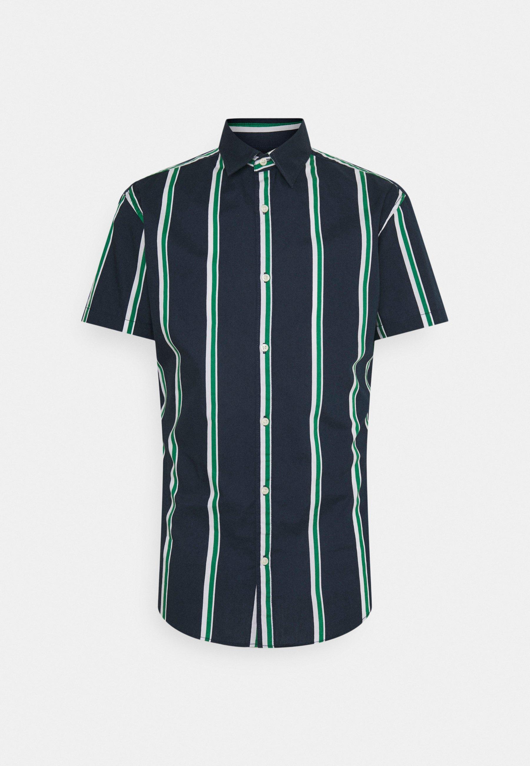 Men JJCHRIS STRIPE SHIRT - Shirt