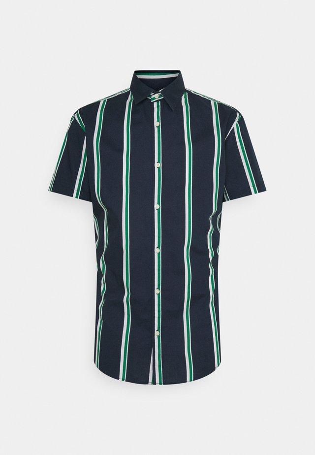 JJCHRIS STRIPE SHIRT - Shirt - verdant green