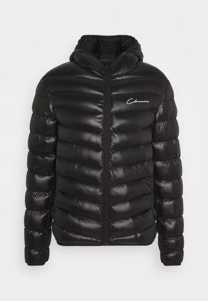 PUFFER JACKET - Winter jacket - black shine