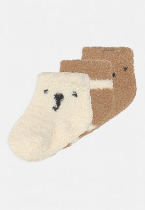 COZY 3 PACK UNISEX - Socks - desert camel