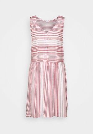 Day dress - weiß/mauve