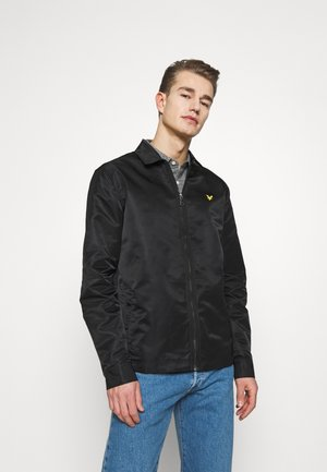 LIGHTWEIGHT JACKET - Summer jacket - jet black