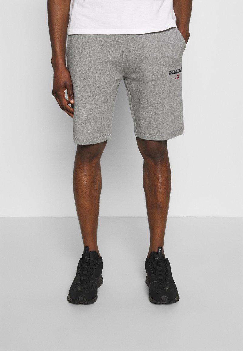 Napapijri - NERT - Teplákové kalhoty - med grey mel