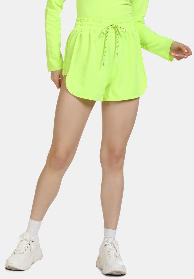 Kraťasy - neon green