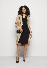 Lauren Ralph Lauren - CLASSIC DRESS - Shift dress - black - 1