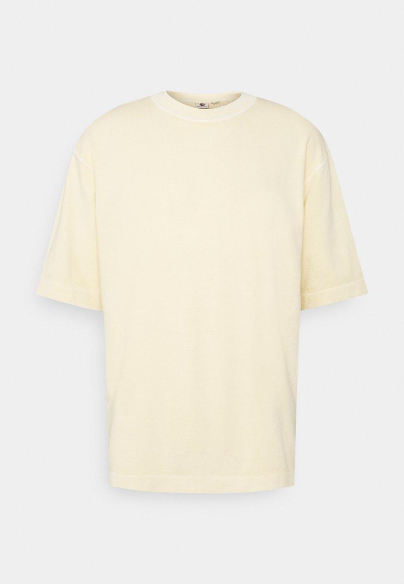 Quiksilver - GENERAL ECHO - Basic T-shirt - antique white