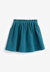 Next - A-line skirt - green - 1